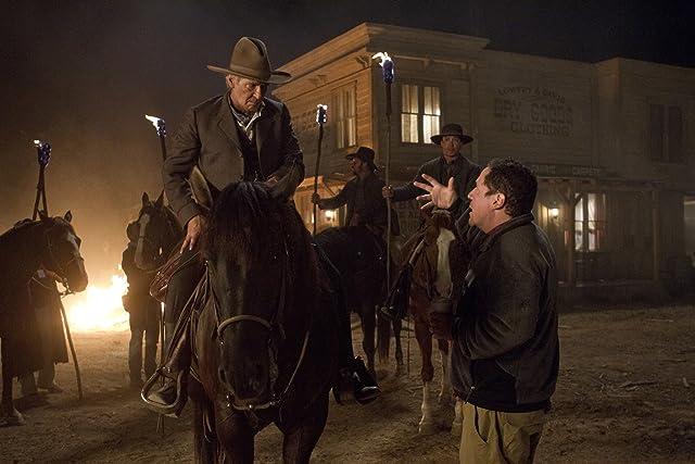 Harrison Ford and Jon Favreau in Cowboys & Aliens (2011)