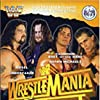 Mark Calaway, Bret Hart, Shawn Michaels, Kevin Nash, and Jim Hellwig in WrestleMania XII (1996)