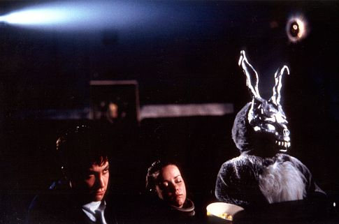 James Duval, Jake Gyllenhaal, and Jena Malone in Donnie Darko (2001)