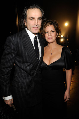 Daniel Day-Lewis and Marcia Gay Harden