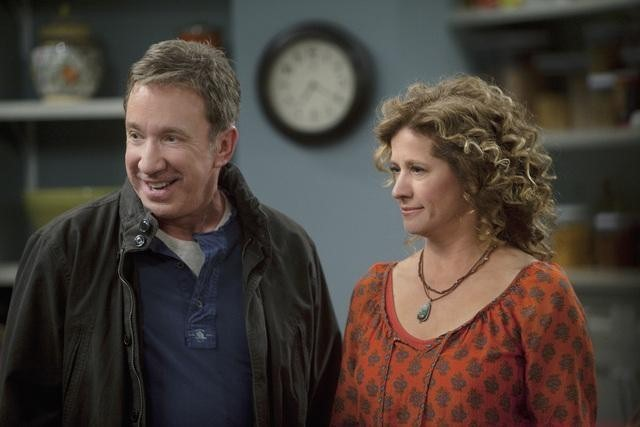 Tim Allen and Nancy Travis in Last Man Standing (2011)