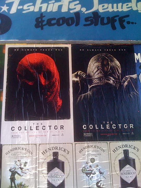 The Collector outdoor posters.