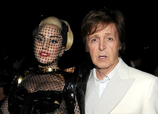 Paul McCartney and Lady Gaga