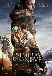 Palmeras en la nieve Poster