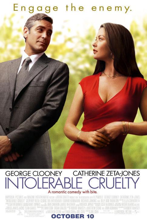 Nepakenčiamas žiaurumas / Intolerable Cruelty (2003)