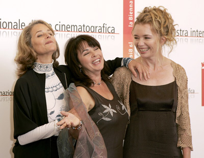 Charlotte Rampling, Louise Portal, and Karen Young at Heading South (2005)