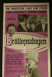 Bröllopsdagen Poster