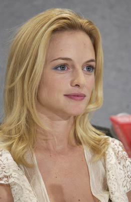 Heather Graham at an event for From Hell (2001)