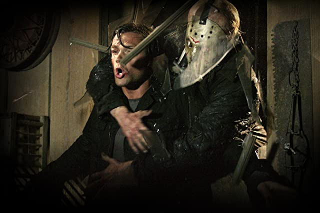 Derek Mears and Jared Padalecki in Friday the 13th (2009)