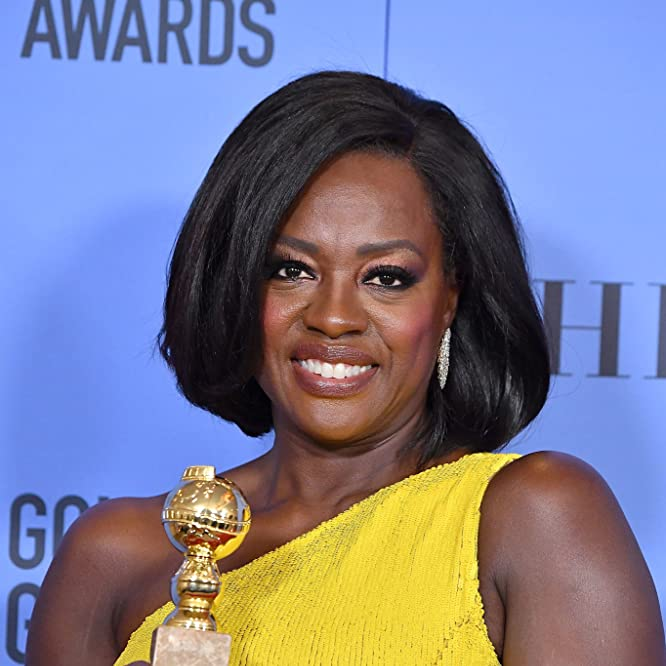 Viola Davis at an event for The 74th Golden Globe Awards (2017)