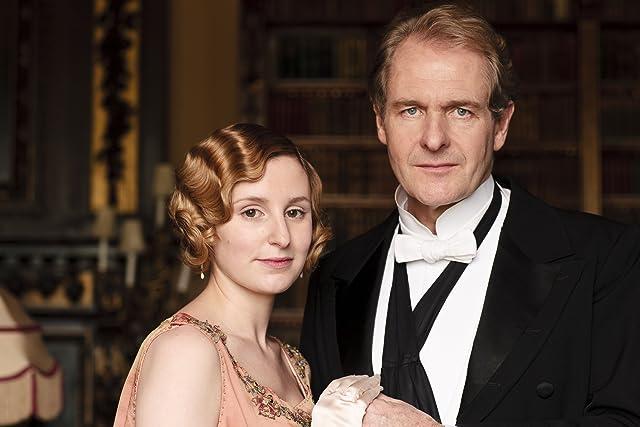 Robert Bathurst and Laura Carmichael in Downton Abbey (2010)