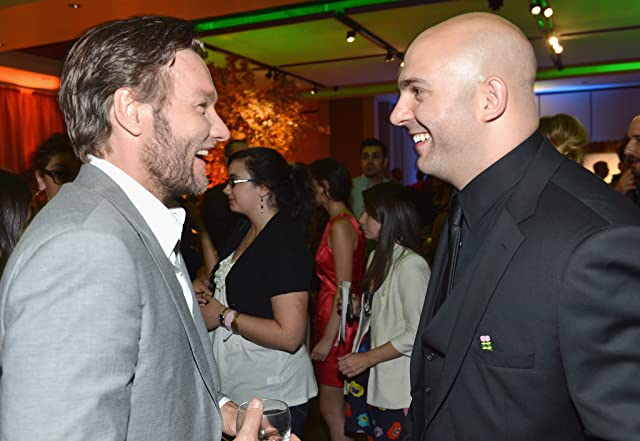 Joel Edgerton and Ahmet Zappa at an event for The Odd Life of Timothy Green (2012)