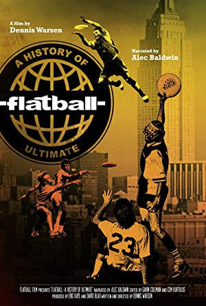 Flatball – A History of Ultimate Poster