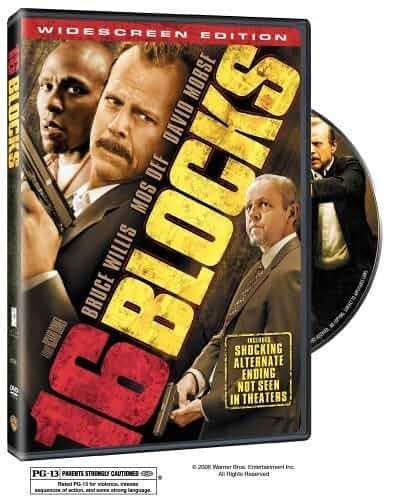 Bruce Willis, David Morse, and Yasiin Bey in 16 Blocks (2006)