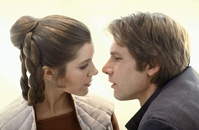Harrison Ford and Carrie Fisher in Star Wars: Episode V - The Empire Strikes Back (1980)