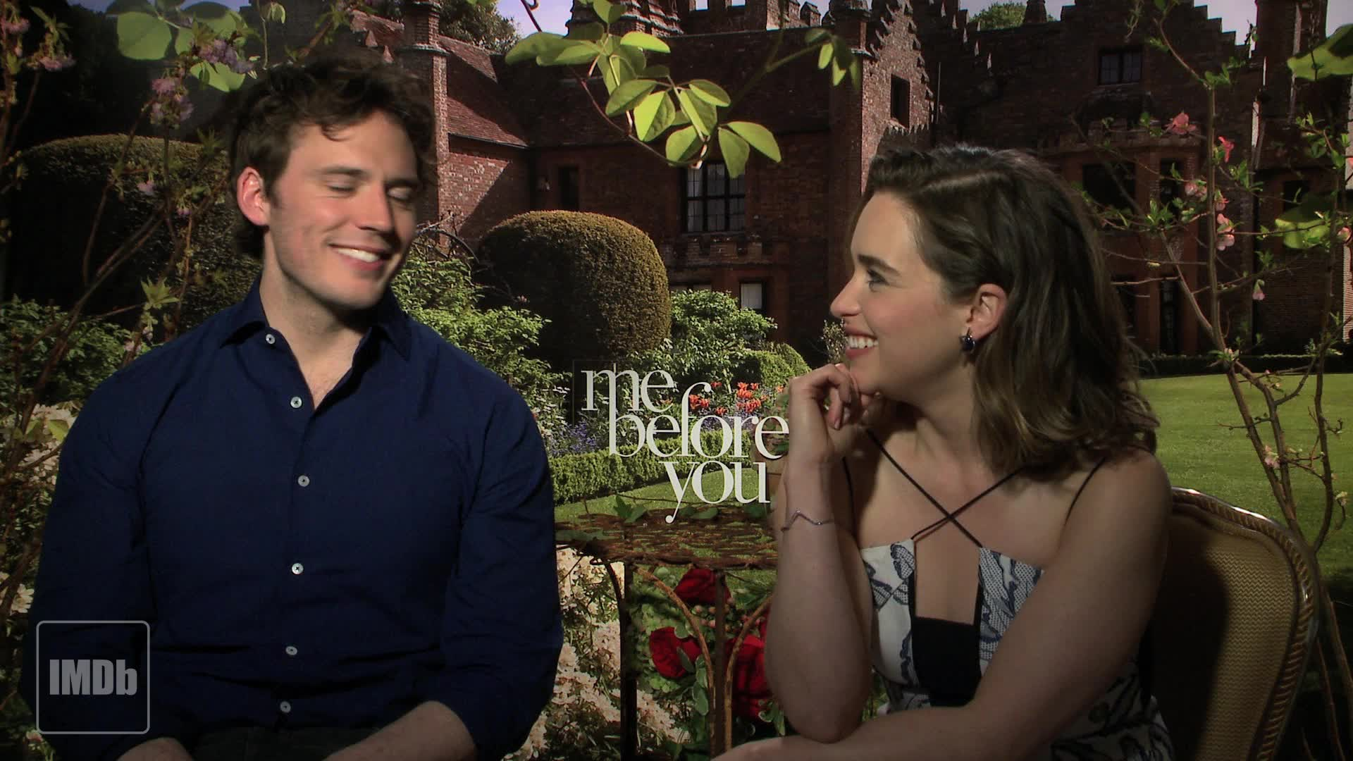 Emilia Clark and Sam Claflin on the Art of the Kiss from Me Before ...