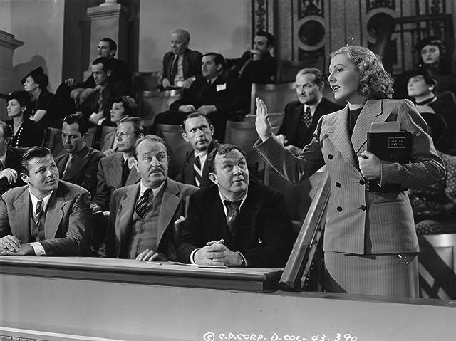 Jean Arthur, Jack Carson, and Thomas Mitchell in Mr. Smith Goes to Washington (1939)