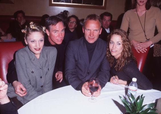 Sting, Sheryl Crow, Gwen Stefani, and Tommy Hilfiger