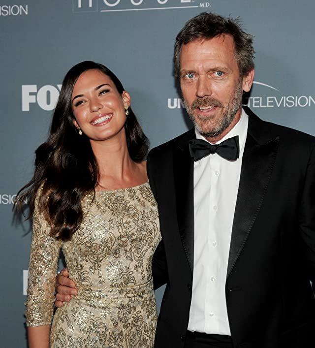 Hugh Laurie and Odette Annable at House (2004)