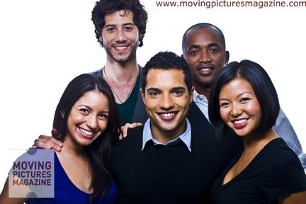 cast of 'Pedro' at the Toronto International Film Festival