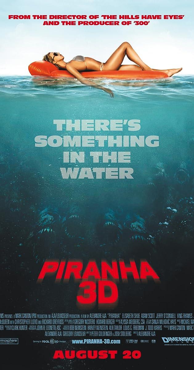 Piranijos 3D / Piranha 3D (2010) Online