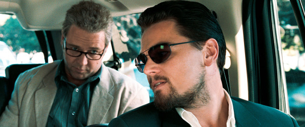 Russell Crowe and Leonardo DiCaprio in Body of Lies (2008)