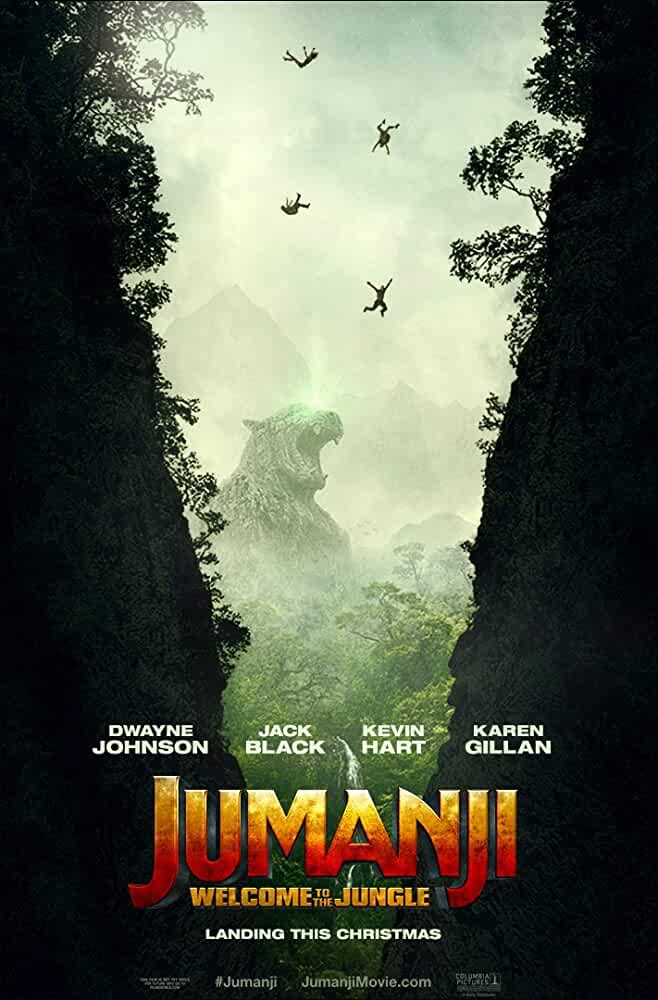 Jumanji Welcome to the Jungle 2017 Hindi Dual Audio 480p CAMRip full movie watch online freee download at movies365.ws