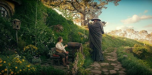 Ian McKellen and Martin Freeman in The Hobbit: An Unexpected Journey (2012)