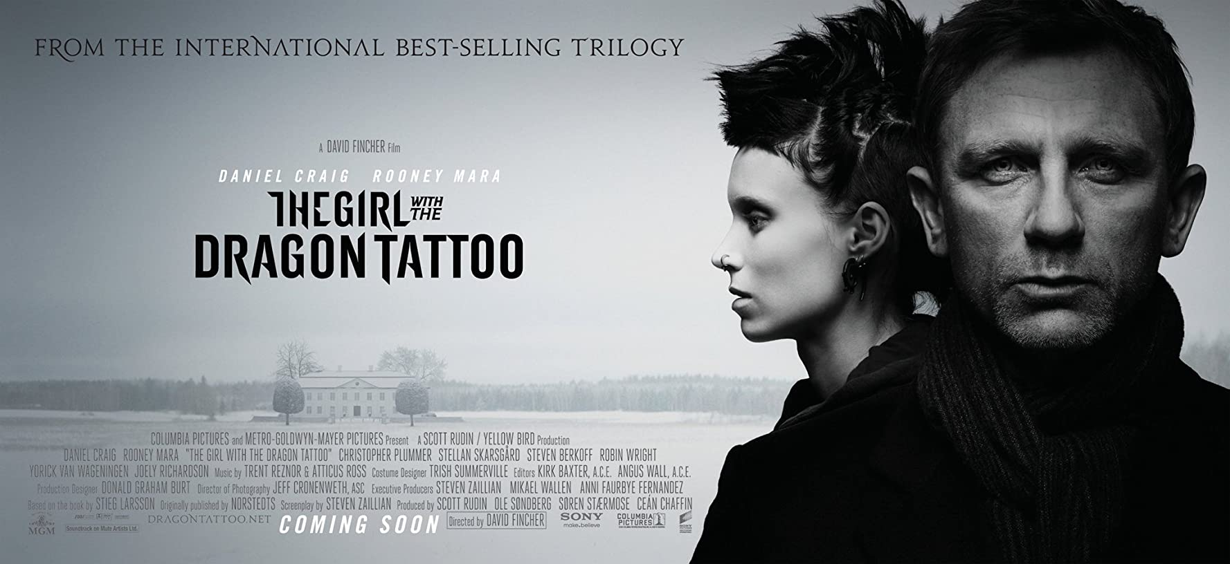 หนังเรื่อง The Girl With The Dragon Tattoo