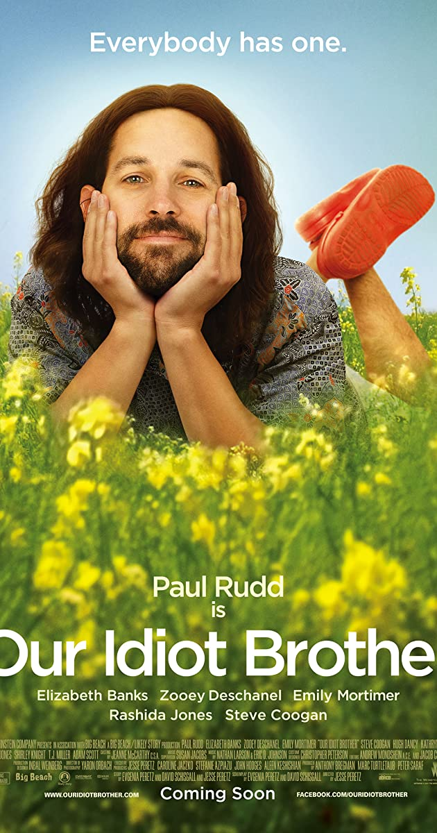 Mūsų Kvaiša Brolelis / Our Idiot Brother (2011) Online