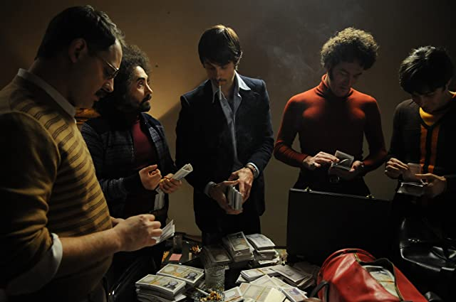 Moritz Bleibtreu, Kim Rossi Stuart, Nicola Acunzo, Lino Guanciale, and Paolo Mazzarelli in Angel of Evil (2010)
