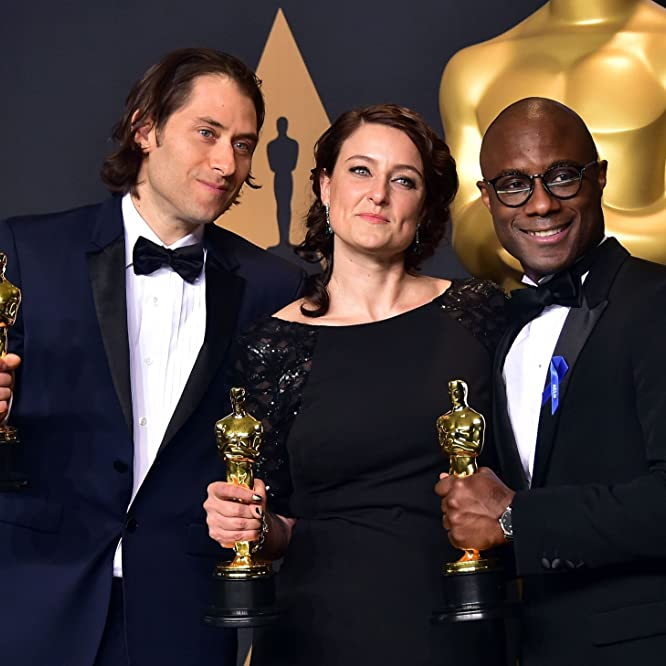 Jeremy Kleiner, Barry Jenkins, and Adele Romanski at an event for Moonlight