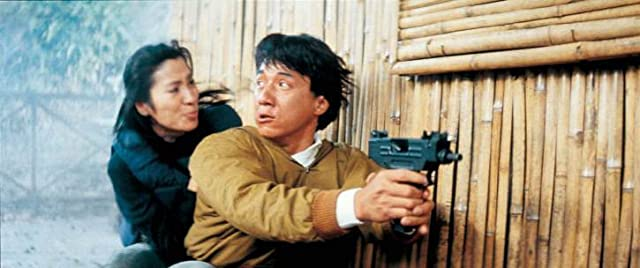 Jackie Chan and Michelle Yeoh in Police Story 3: Supercop (1992)