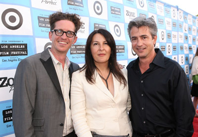 Dermot Mulroney, Kieran Mulroney, and Michele Mulroney at an event for Paper Man (2009)