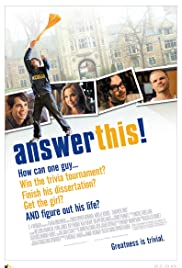 Answer This! Poster