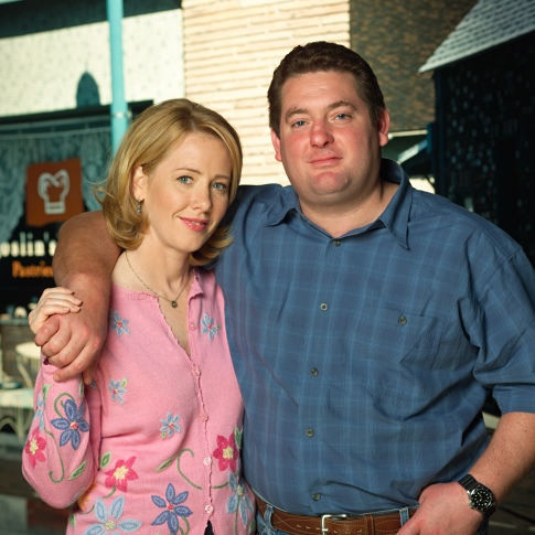 Chris Penn and Ann Cusack in The Brotherhood of Poland, New Hampshire (2003)