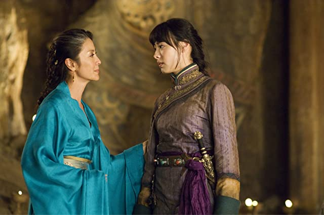 Michelle Yeoh and Isabella Leong in The Mummy: Tomb of the Dragon Emperor (2008)