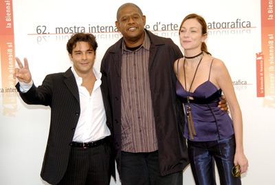 Forest Whitaker, Marco Leonardi, and Stefania Rocca at Mary (2005)