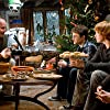 Rupert Grint, Daniel Radcliffe, Bonnie Wright, and David Yates in Harry Potter and the Half-Blood Prince (2009)