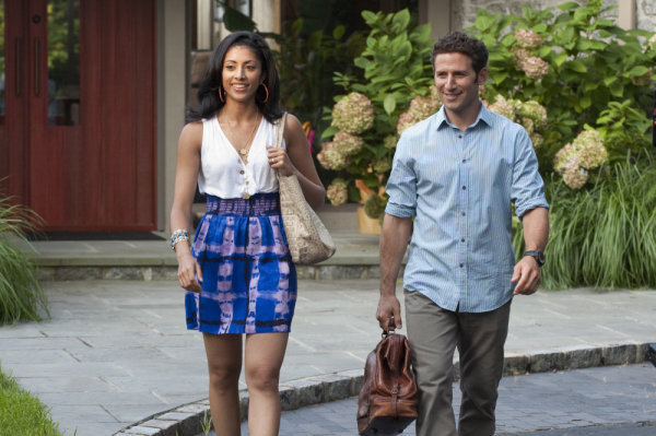 Mark Feuerstein and Reshma Shetty in Royal Pains (2009)