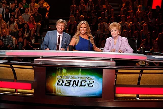 Debbie Reynolds, Nigel Lythgoe, and Mary Murphy in So You Think You Can Dance (2005)