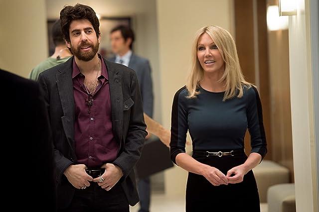 Heather Locklear and Adam Goldberg in Franklin & Bash (2011)