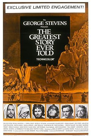 Poster Die größte Geschichte aller Zeiten