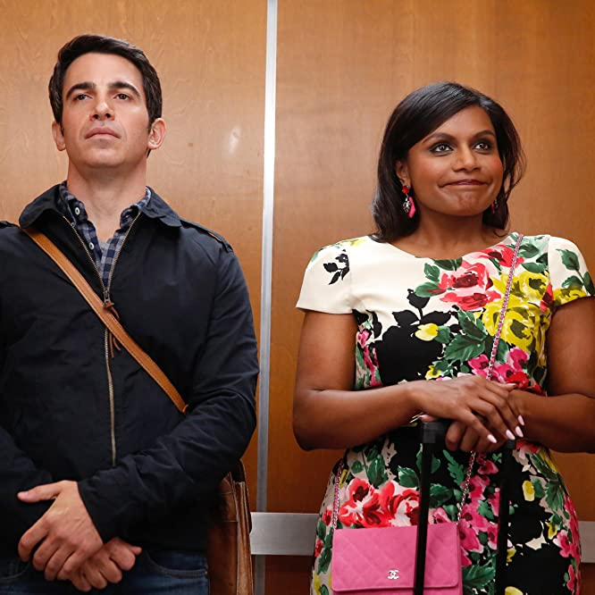 Chris Messina and Mindy Kaling in The Mindy Project (2012)