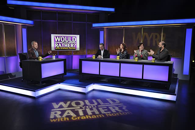 Alan Cumming, Scott Adsit, and Graham Norton in Would You Rather...? with Graham Norton (2011)