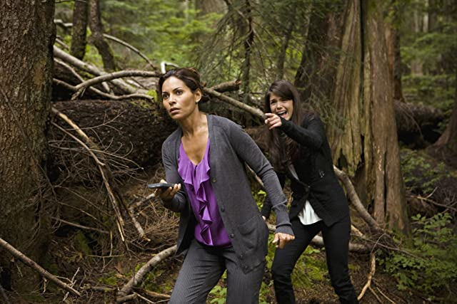 Salli Richardson-Whitfield and Marie Avgeropoulos at an event for Eureka (2006)