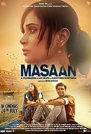 Masaan 2015 Hindi BluRay 480p 300MB MKV