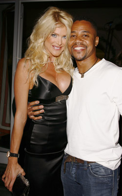 Cuba Gooding Jr. and Victoria Silvstedt