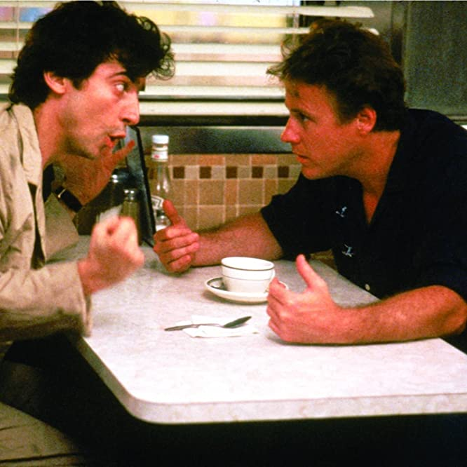 Griffin Dunne and John Heard in After Hours (1985)