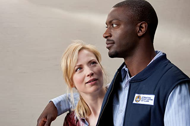 Aldis Hodge and Beth Riesgraf in Leverage (2008)